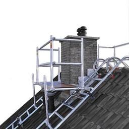 Euroscaffold Dak- schoorsteensteiger compleet 305 cm