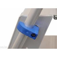 Solide Dubbele Trap 2x12 treden (max. werkhoogte 5 m)