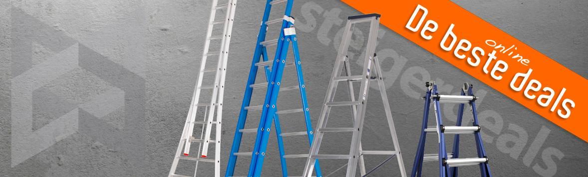 Alle soorten ladders & trappen