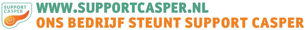 Sponsoractie Support Casper