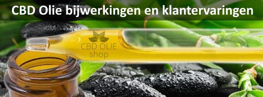 CBD Olie bijwerkingen | Lees  wat andere klant ervaringen hebben