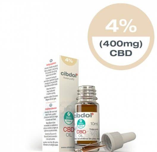 17ca62ae535d59 Cibdol Cibdol 4% CBD Olie 10ml Direct online bestellen