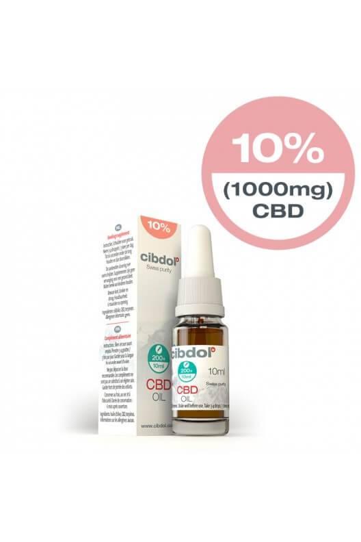 55084fdf622479 Cibdol 10% CBD Olie 10ml Direct online bestellen!