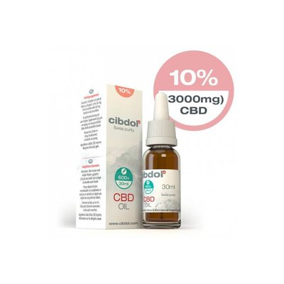 Cibdol Cibdol 10% CBD Olie 30ml Direct online bestellen!