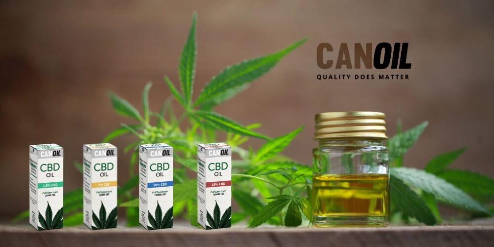 CanOil CBD Olie Full Spectrum