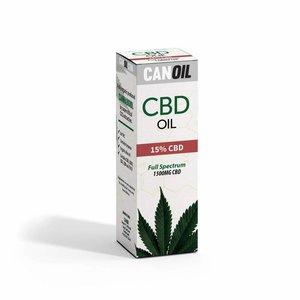 Canoil Canoil CBD Olie 15% (4500 MG) 30ML FS Hennepzaad Olie 0% THC