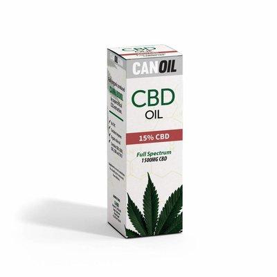 Canoil CBD Olie 15% (4500 MG) 30ML FS Hennepzaad Olie 0% THC
