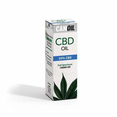 Canoil Canoil CBD Olie 10% (3000 MG) 30ML FS Hennepzaad Olie 0% THC