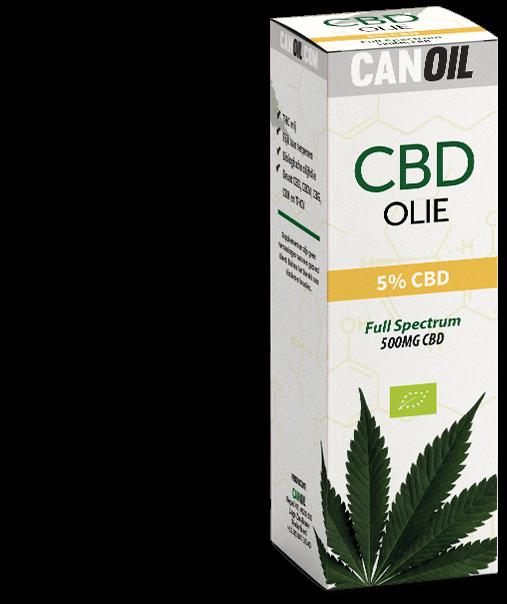 Canoil CBD olie 5% Full Spectrum