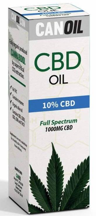Canoil CBD olie 10% Full Spectrum