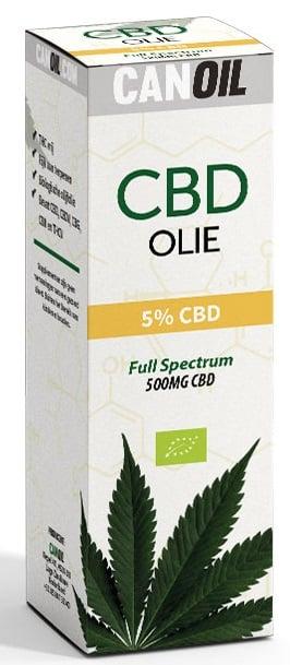 Canoil CBD olie Full Spectrum 5%