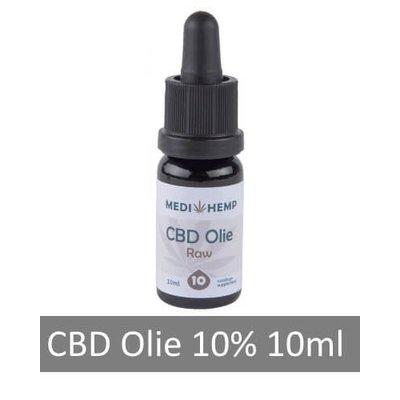 Medihemp CBD olie RAW 10%, 10 ml