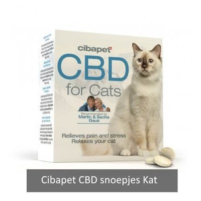 Cibapet CBD snoepjes kat 1,3 mg