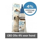 Cibapet CBD Olie 4% voor Hond