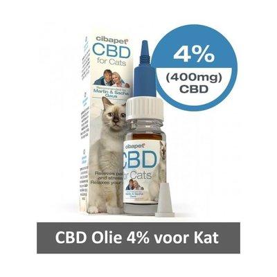 Cibapet CBD Olie 4% voor uw Kat