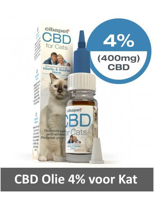 Cibapet CBD olie 4%
