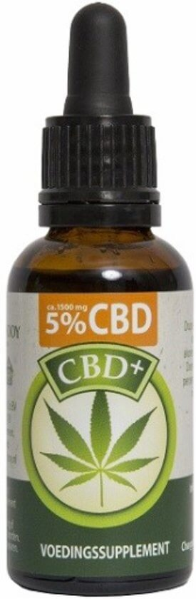 CBD Olie 5% Jacob Hooy