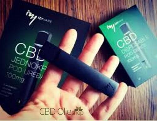 CBD 100mg wegwerp E-sigaret Izy Vape