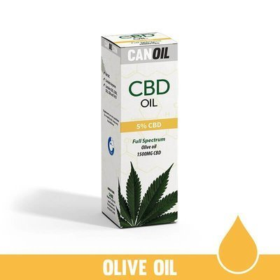 Canoil CBD Olie 5% (1500 MG) 30ML Full Spectrum  Olijf olie