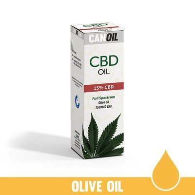 Canoil CBD Olie 15% (1500 MG) 10ML Full Spectrum  Olijf olie