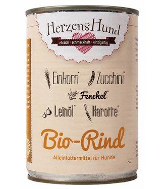 Herzenshund Bio-Rind mit Bio-Gemüse 400 g