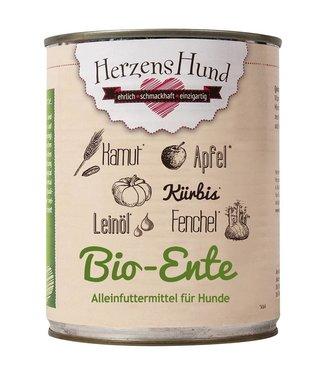 Herzenshund Bio-Ente mit Bio-Gemüse 800 g