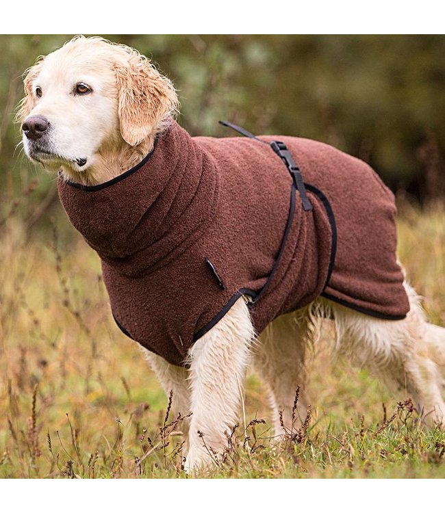 Fit4dogs Dryup Cape - BROWN