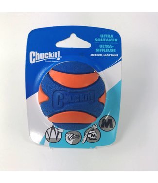 Chuck-it Fetch Games CHUCKIT ULTRA SQUEAKER  - Medium