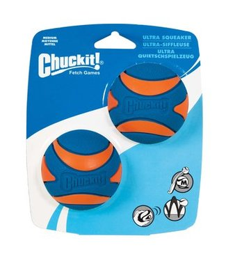 Chuck-it Fetch Games CHUCKIT ULTRA SQUEAKER  - Medium - 2er Pack