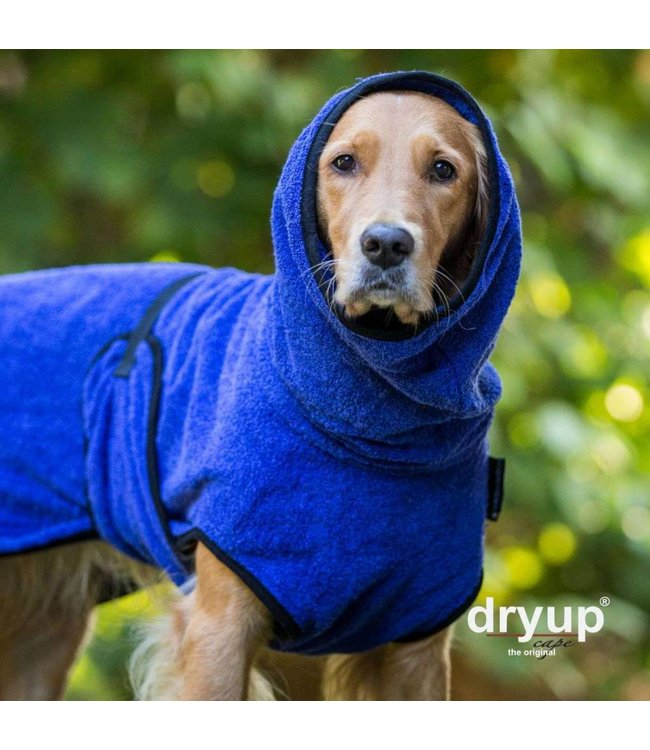 Fit4dogs Dryup Cape - BLUEBERRY