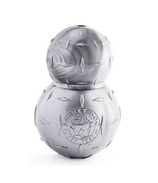 Planet Dog Orbee-Tuff Diamond Plate Ball Double - Silver