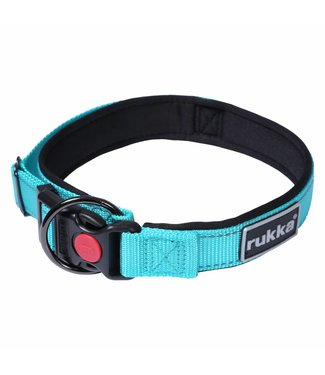 Rukka Hundehalsband Solid Türkis