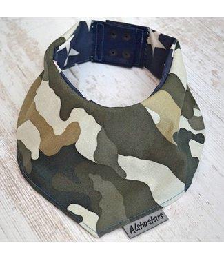 "Alsterstars Dogbandana ""Camouflage - Oldschool"""
