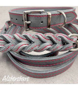 Alsterstars Fettlederset - Grey meets Pink