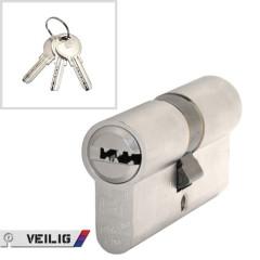 Veilig - veiligheidscilinder - 30/30 - SKG** - keersleutel