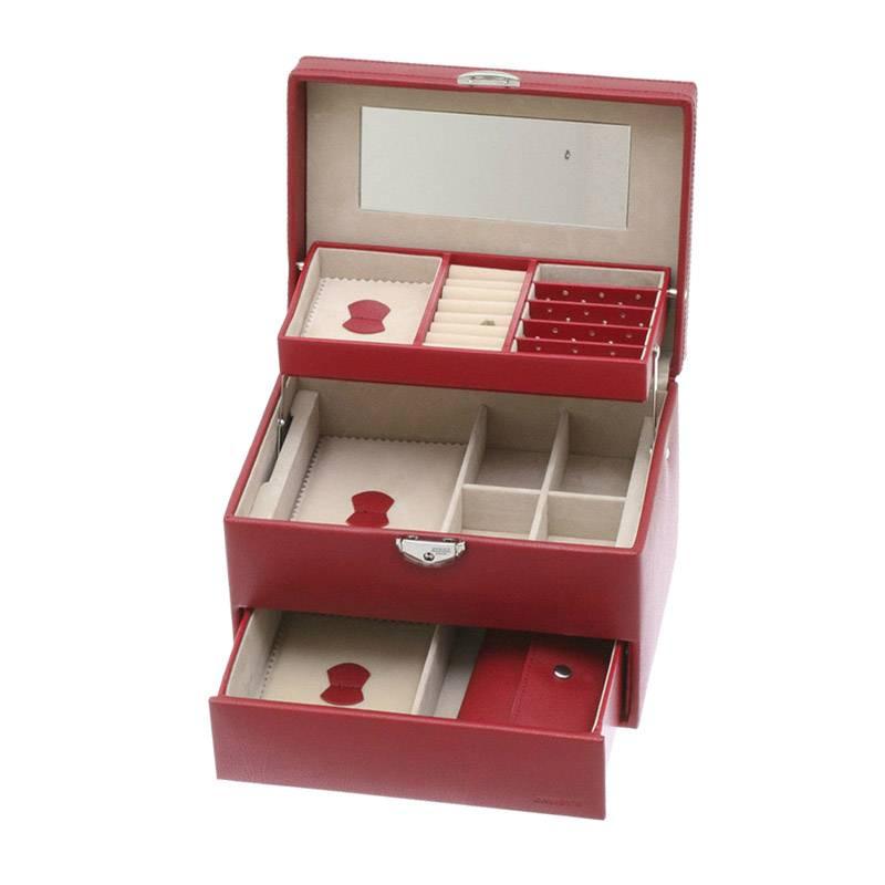Davidt's juwelenkistje rood automatic - 367200