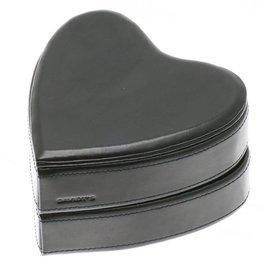 Davidts hartvormige sieradendoos - 378766 - zwart
