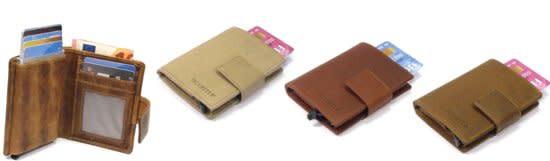 Card protector - creditcardhouder - leer - donkerbruin