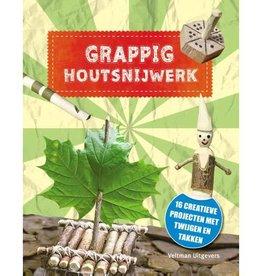 Boek grappig houtsnijwerk