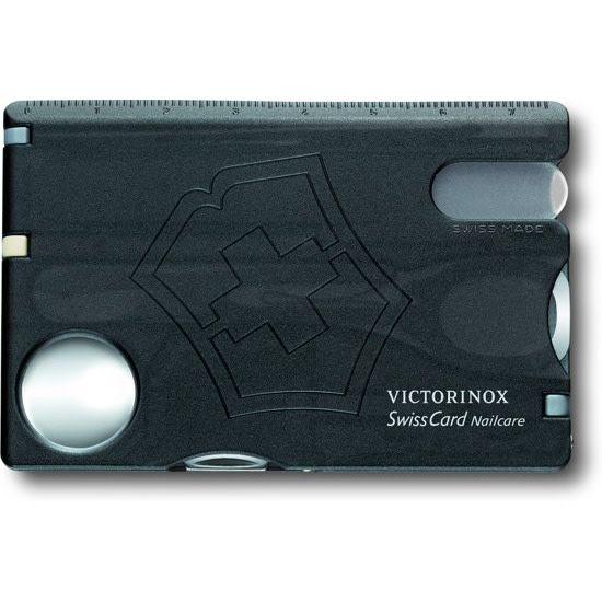 Victorinox Victorinox - Swisscard - Nailcare zwart transparant