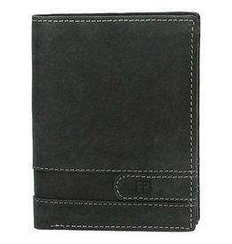 Portemonnee - heren - portefeuille - 67000 001 zwart