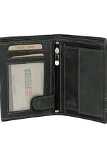 Enrico Benetti Portemonnee - heren - portefeuille - 67000 001 zwart