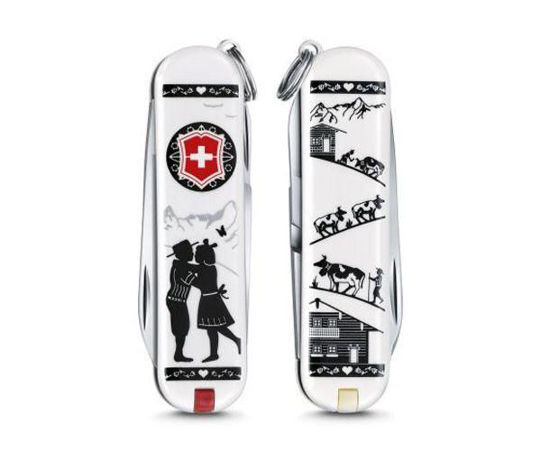 Victorinox Classic SD limited edition 2018 - Alps Love