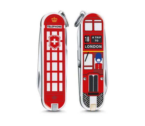 Victorinox Classic SD limited edition 2018 - A trip to London