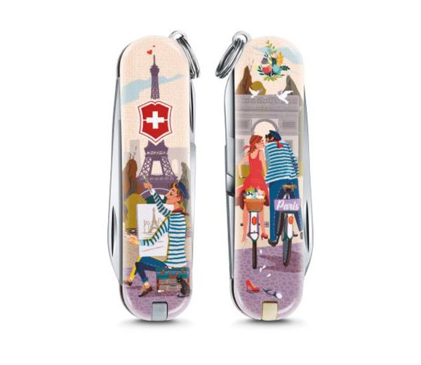 Victorinox Classic SD limited edition 2018 - The City of Love
