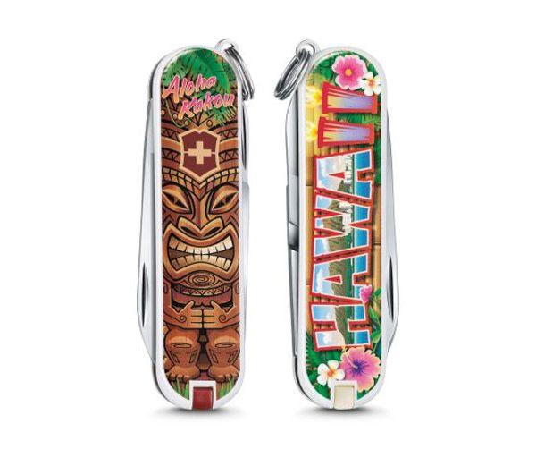 Victorinox Classic SD limited edition 2018 - Aloha Kakou