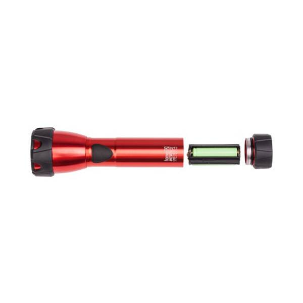 Homeij Zaklamp Proforce - rood aluminium