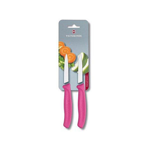 Victorinox Groente schilmes - 2 delige set - roze