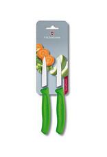 Victorinox Groente schilmes - 2 delige set - groen