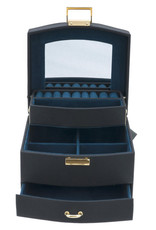 Davidt's - juwelendoos - half automatisch -  turqoise - 333023-19
